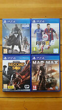 PS4 FIFA16, Call of Duty:Black OPS III ,Star Wars Battlefront