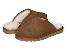 AUSTRALIAN UGG ORIGINAL Classic hard sole mens ugg scuffs. Made in Australia.