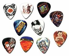 Red Hot Chili Peppers (Code A5) Set of 10 Electric Acoustic Guitar Plectrums