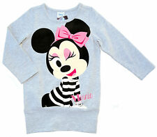 Neu! Disney Minnie Mouse Stretch Long-Shirt Tunika Shirt Langarm 98 104 116 128