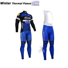 Cycling Winter Thermal Fleece Long Sleeve Jerseys Bike 2016 Ropa Ciclismo Set