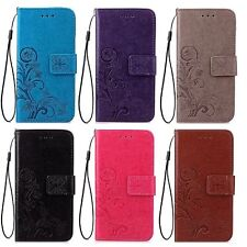 COQUE ETUI HOUSSE PORTEFEUILLE FLOWER LUXE CUIR NEUF IPHONE 5S SE 6 6S 7 8 XS XR