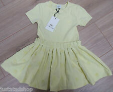 No added sugar girl summer dress 3-4 y BNWT  designer yellow