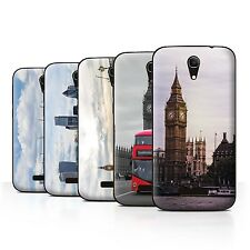 Stuff4 Hülle/Case/Backcover für Alcatel Pop S7/Seiten London