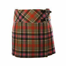 John Morrison Women's 12Oz Wool Scottish Tartan Billie Kilt