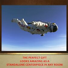 Red Bull Paratrooper Free Falling poster print wall art  wall decor