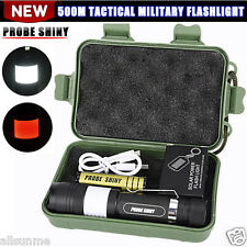 G700 6000LM Tactical Zoomable X800 XML T6 LED Military Flashlight Torch Lamp UK