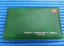 1979 Singapore Mint's Goat Uncirculated Coin Set (1¢ - $1 Stylised Lion Coin)