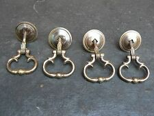 Antique Brass dropped Handles Knobs for Wardrobe Drawer