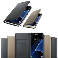 1 x Luxury Leather Card Holder Wallet Flip Case Cover for Samsung Galaxy Phones