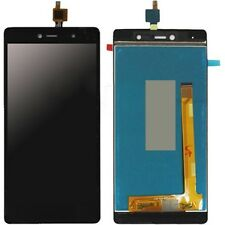 WIKO Fever 4G KOMPLETT LCD Digitizer Touch Screen Display Glas schwarz