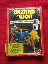 WIZARD OF WOR SEALED  VINTAGE EARLY CONSOLE GAME FREE POSTAGE ATARI
