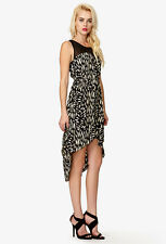 SALE! Forever 21 Abstract Print High Low Sleeveless Dress SMALL
