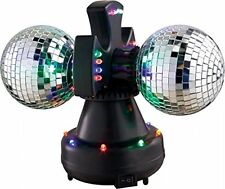 VE V0235 Duo-Led Twin Rotating Mirror Balls