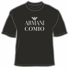 Maglietta divertente Armani Comio- T-shirt nuova fruit of the loom