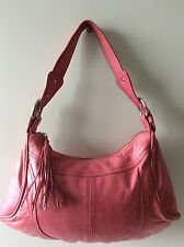 TED BAKER real eather ladies small pink underarm shoulder bag