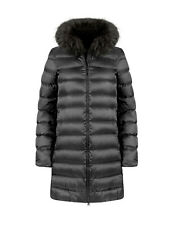 SOVENTUS FASHION WINTERMANTEL WINTERJACKE DAUNENMANTEL mit ECHTFELL FELL
