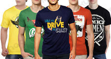 Combo of 5 Round Neck T-Shirts