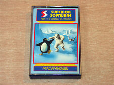 Acorn Electron - Percy Penguin by Superior Software