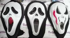 MASCHERA SCREAMING URLO CICATRICE LINGUACCIA HALLOWEEN PAURA PARTY FESTA