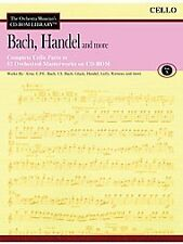 Bach, Handel and More - Volume 10 CD ROM The Orchestra Musician's CD-ROM Library