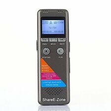 Shareezone 8gb 1.8 700 Long Standby 350 Hours Digital Voice Recorder with Mp3 Pl