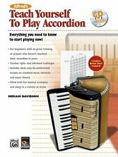 Alfred's Teach Yourself to Play Accordion - Bk+CD