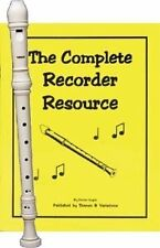 Recorder Pack: Yamaha Ivory Soprano Recorder with Complete Recorder Resource Boo