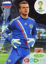 PANINI ADRENALYN WORLD CUP BRAZIL 2014 - RUSSIA Base Cards - TO CHOOSE