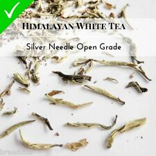 Premium Himalayan White Tea Pure UnSorted UnGraded Full Leaf Silver Needles 2016