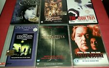 Lotto Stock #4 DVD VARI Usati 6 Titoli Horror e Fantasy