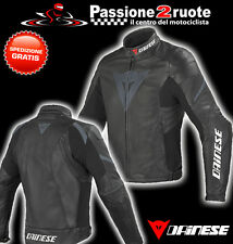 Chaqueta dainese Laguna evo pelle nero black leather jacket