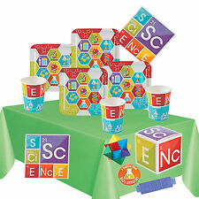 Science Party Kit 2 For 8 to 16 Children | Party Tableware & Filled Party Boxes