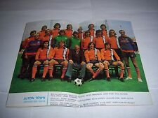 LEAGUE FOOTBALL (REVIEW) MAGAZINE 1974/75 - #903 - LUTON TOWN / OXFORD UNITED