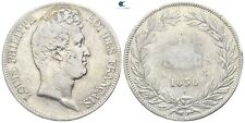 Savoca Coins Frankreich Louis Philippe 5 Francs 1830 24,63 g / 37 mm %AAA5450