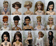 Bijoux jewelry pour poupée Barbie Silkstone Fashion Royalty