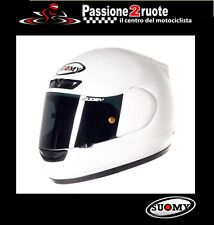 casco de moto carbono casco capacete Casco Integral Suomy Apex blanco