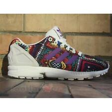 Scarpe Adidas Originals ZX Flux The Farm Company S76593 Running Donna Off White