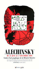 Pierre Alechinsky Les affiches impression offset Poster Alechinsky