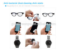 * For CASIO EDIFICE CHRONOGRAPH * Screen Finger Print Dust Cleaner Wipes