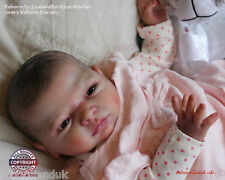 """20-21"""" UNPAINTED REBORN DOLL KIT, WITH OR WITHOUT BODY- """"SOPHIE"""""""