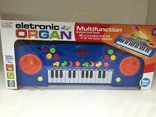 KIDS PIANO TOY KEYBOARD ORGAN ELECTRONIC MUSICAL INSTRUMENT 25 KEYS