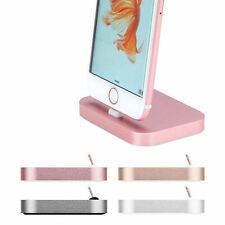 Aluminum Alloy Charging Dock Cradle Station Charger For iPhone7 7 Plus 6