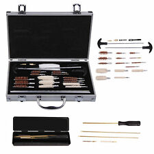 GUN CLEANING KIT Barrel Air Rifle Pistol Gun Airgun Rimfire 177 22 Brushes Rods