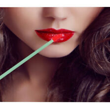 Black Disposable Lip Eye Gloss Wands Brushes Lipstick Spoolers