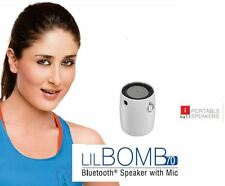 iBall LIL Little Bomb 70 Ultra Portable Bluetooth Speaker Wth Mic Battery AUX BT