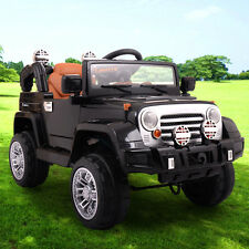 12V JEEP Power Wheel Kids Car Ride On Cars Toys Battery Powered Wheels Electric