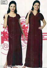 Sleep Wear 2pc Nighty & Over Coat  Night & Robe Set 2180B Lounge Daily Gown