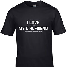 I LOVE IT WHEN MY GIRLFRIEND LETS ME WATCH DONCASTER ROVERS  funny t shirt