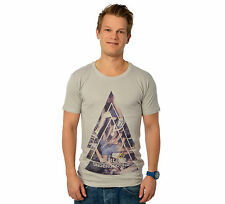 Eleven Paris BERLIN M Herren T-Shirt wind grau